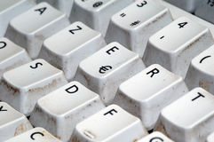 Tastiera di Azerty Immagini Stock Libere da Diritti