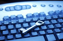 Tastiera di calcolatore Fotografie Stock