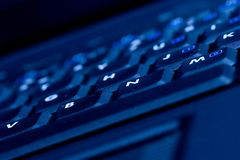Tastiera di calcolatore Fotografie Stock Libere da Diritti
