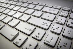 Tastiera di calcolatore Immagini Stock
