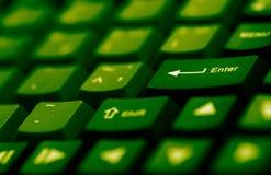 Tastiera di calcolatore Fotografia Stock