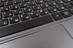 Tastiera di calcolatore nera Immagine Stock