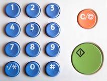 Tastiera di colore Fotografia Stock Libera da Diritti