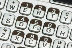 Tastiera di computer Immagini Stock
