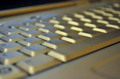 Tastiera di computer grigia Immagine Stock