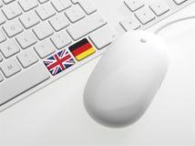Tastiera di Computor Immagine Stock