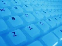 Tastiera di gomma Fotografia Stock