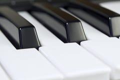 Tastiera di musica Fotografia Stock Libera da Diritti