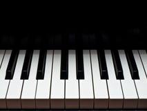 Tastiera di musica del grande piano Fotografia Stock Libera da Diritti