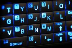 Tastiera di PDA Fotografia Stock