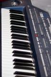 Tastiera di piano Fotografia Stock