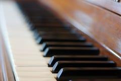 Tastiera di piano Fotografie Stock Libere da Diritti