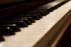 Tastiera di piano Fotografie Stock