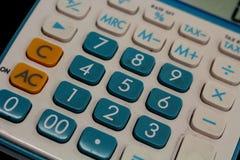 Tastiera di piccolo calcolatore Fotografia Stock