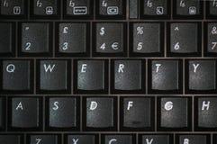 Tastiera di qwerty Fotografie Stock