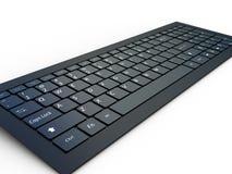 Tastiera di un computer portatile Fotografia Stock Libera da Diritti