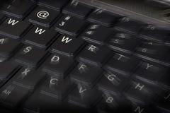 Tastiera di Web Fotografia Stock Libera da Diritti