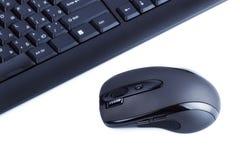 Tastiera e mouse Fotografie Stock