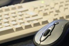 Tastiera e mouse Fotografia Stock