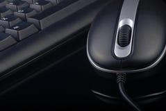 Tastiera e mouse immagini stock libere da diritti