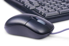 Tastiera e mouse Fotografia Stock Libera da Diritti