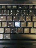 Tastiera rotta fotografia stock libera da diritti