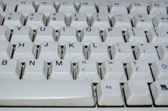 Tastiera sporca immagini stock
