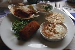 Tasting dish. Stock Image