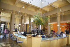 Tasting room at Darioush Winery in Napa Valley Royalty Free Stock Photos