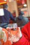 Tasting ros  wine Royalty Free Stock Photos
