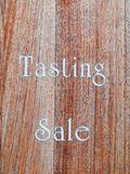 Tasting sale Stock Photo