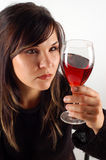 Tasting wine Stock Images