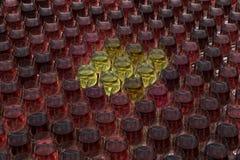 Tasting wine Stock Photo