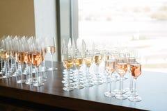 Tasting wine Stock Photography
