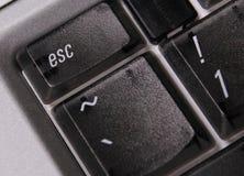 Tasto del computer di ESC Immagine Stock