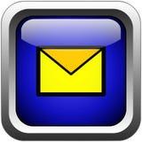 Tasto del email Immagine Stock