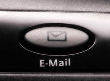 Tasto del email fotografia stock
