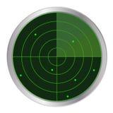Tasto del radar Fotografie Stock
