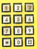 Tasto del telefono Fotografie Stock Libere da Diritti