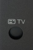 Tasto della TV Immagini Stock