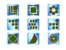 Tasto delle icone Fotografia Stock Libera da Diritti