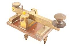Tasto di codice Morse Fotografia Stock