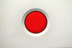 Tasto di interruttore rosso Fotografia Stock Libera da Diritti