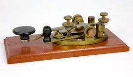 Tasto di Morse d'acciaio americano della leva Fotografie Stock