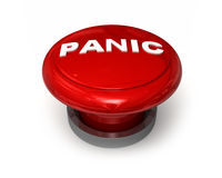 Tasto di panico illustrazione di stock