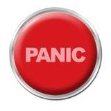 Tasto di panico Immagini Stock