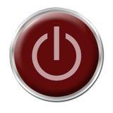 Tasto inserita/disinserita Immagini Stock