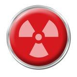 Tasto radioattivo Fotografia Stock Libera da Diritti