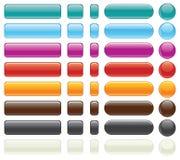 Tasto-Vettore Editable facile di Web site Fotografia Stock Libera da Diritti