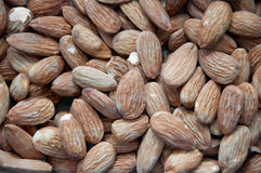 Tasty almond nuts Stock Photography